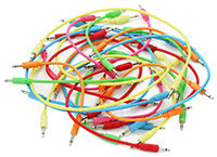 Product Photography Modular Synth Patch Cables By Media-Star