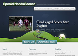 Special Needs Soccer Website Development Long Island NY