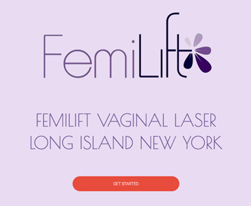 Femilift Website Development Long Island NY