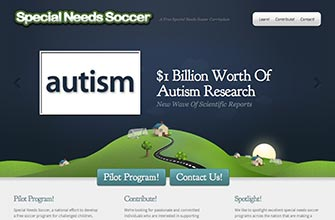 Website: Special Needs Soccer